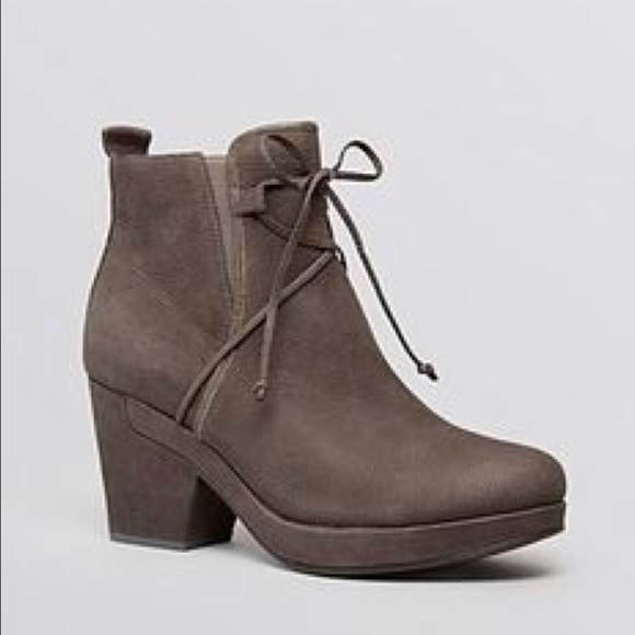 """8b205e06088e Eileen Fisher Shoes - Eileen Fisher    """"Vim"""" Lace Up Ankle Bootie In"""